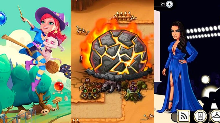 Bubble Witch 2 Saga, Heroe Defense y Kim Kardashian: Hollywood; tres de los títulos más taquilleros en Facebook