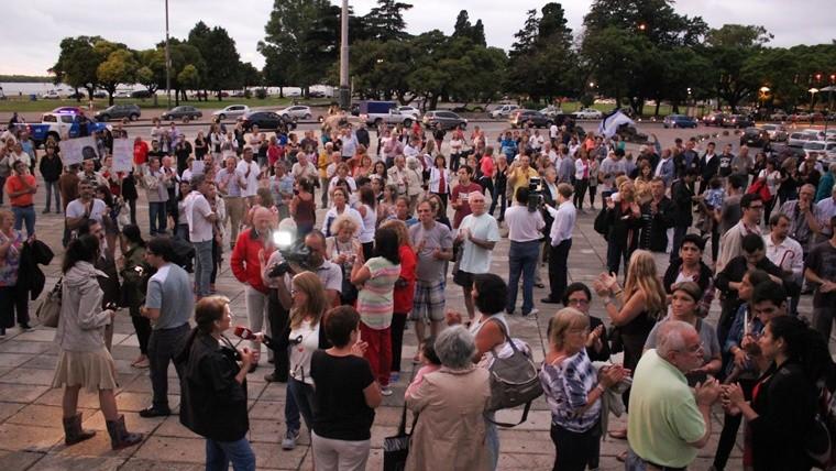 La muerte de Nisman: la marcha en el Monumento