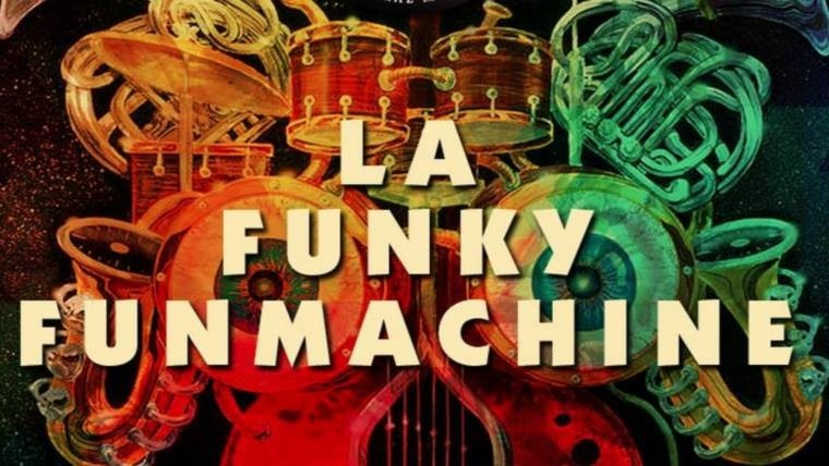A las 18, Funky Fun Machine presenta su mix de funk, soul, pop & disco. En Natural Mystic, Eudoro Carrasco 2034.