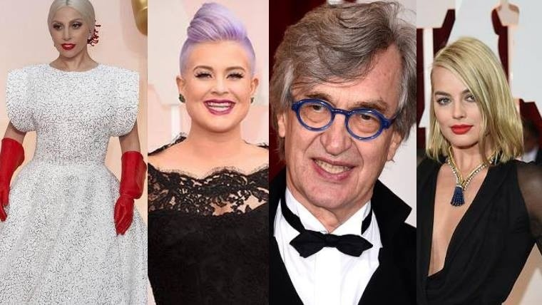 Lady Gaga, Kelly Osborne, Win Wenders y Margot Ribie.