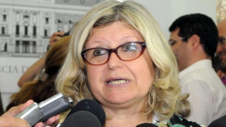 La ministra criticó al candidato del PRO, Miguel Del Sel.