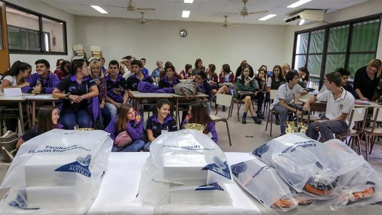 El primer puesto se lo llevó un equipo conformado por alumnos de la escuela Mariano Moreno de la localidad de Acebal.