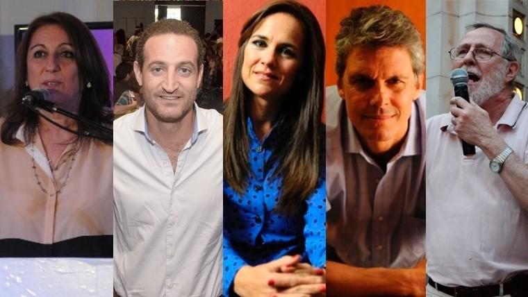 Fein, Sukerman, Martínez, Grandinetti y Filkenstein, por la intendencia.