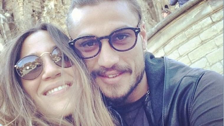 La pareja se separó en medio de rumores de infidelidad de Osvaldo.