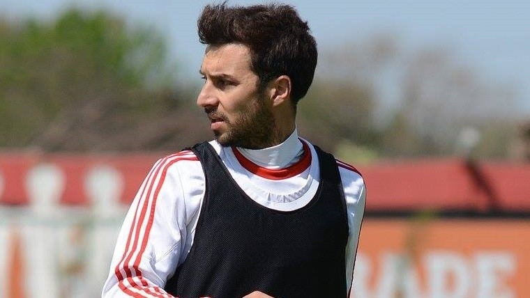 Scocco fue titular ante Chicago.