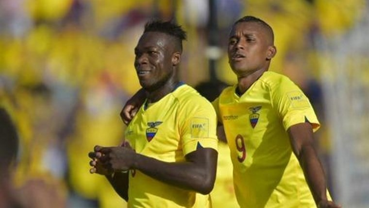 Caicedo y Martínez anotaron para el local en Quito.