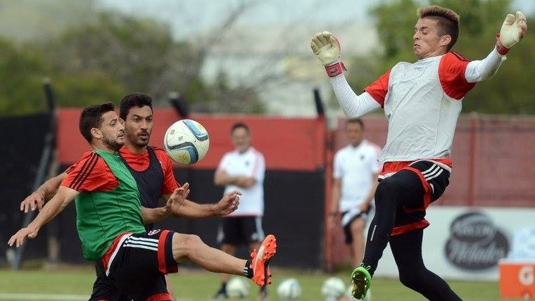Newell's sigue entrenando.