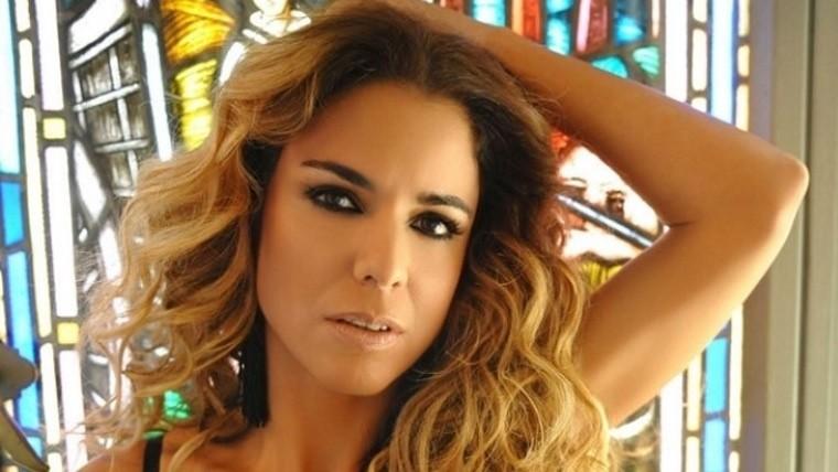 Tras la aparición de la fotos, Marina Calabró dijo que las imágenes estaban en un celular
