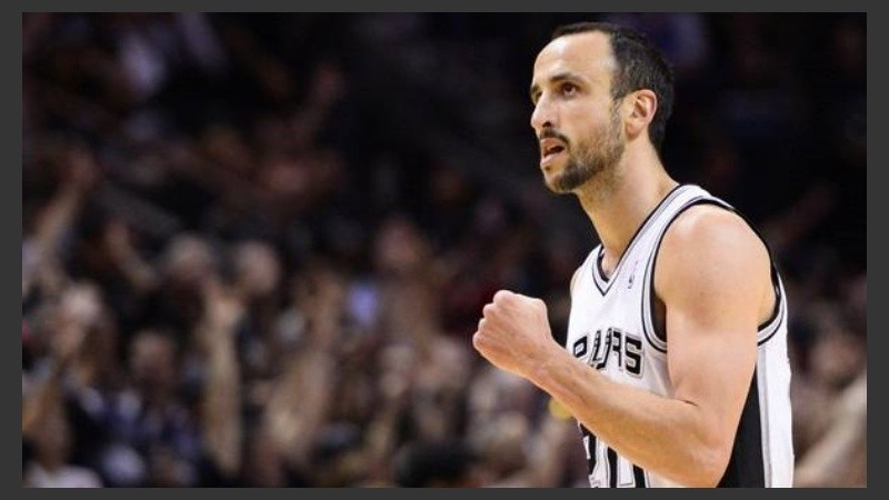 Manu marró sus seis intentos de triples ante Dallas.