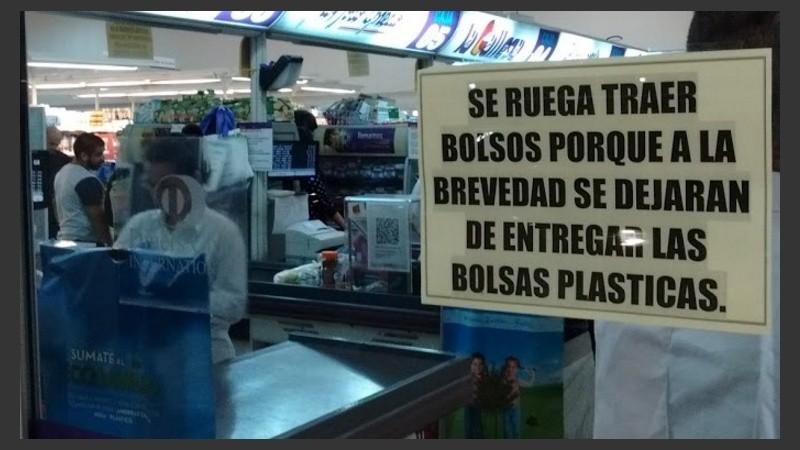 64b7c4058 Recta final para las bolsas descartables en el súper   Rosario3.com ...