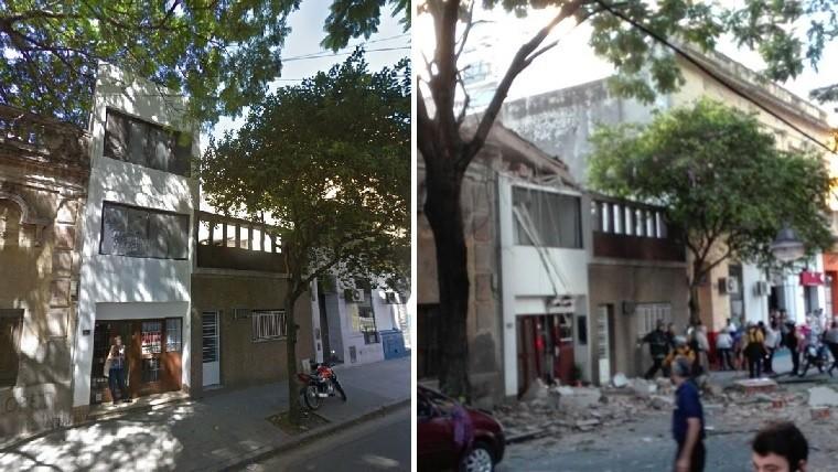 Explosión en Rosario (Santa Fe) - c/Fotos -
