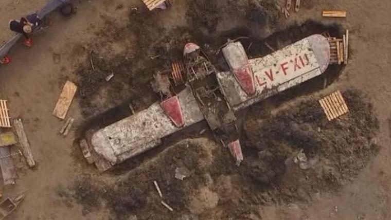 Encontraron enterrado un avión desaparecido hace 52 años