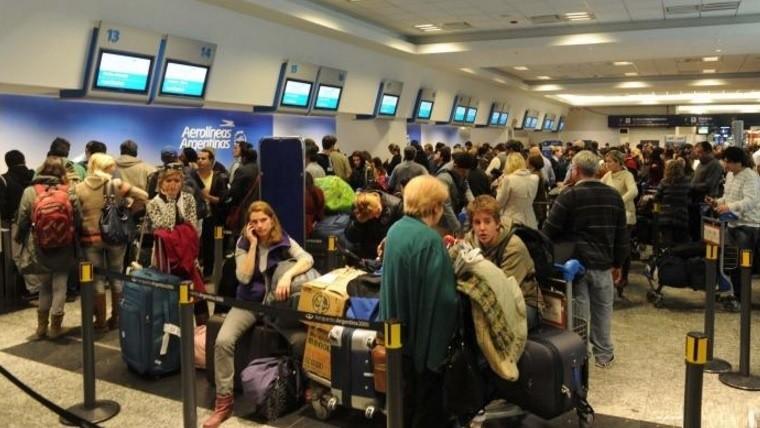 En principio, la huelga afecta a todas las aeroestaciones del país.