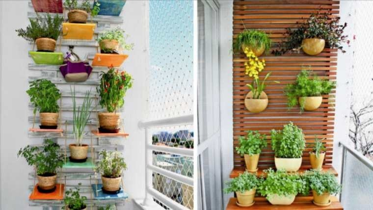 Jardines verticales para decorar tu balc n for Jardines verticales para balcones