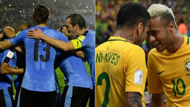 Con un gol de camerino Brasil le gana 1