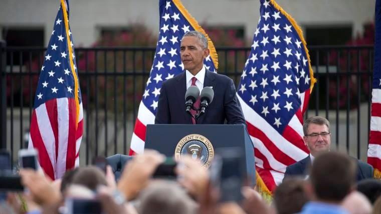 Obama rememora 15 años del 11-S