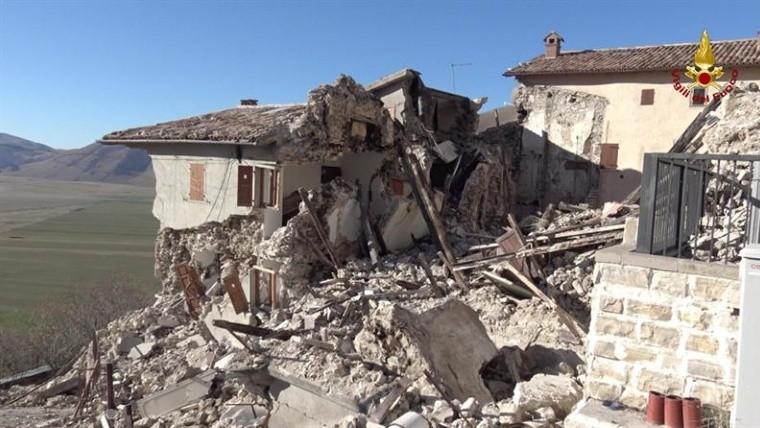 Un nuevo terremoto golpeó el centro de Italia