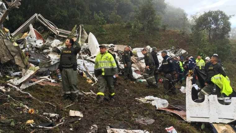 Fallecieron 71 personas en el accidente aéreo.