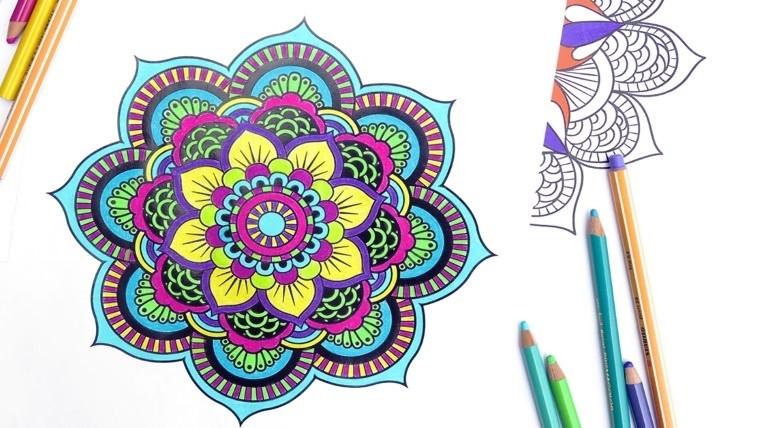 Conocé los beneficios de pintar mandalas | Rosario3.| Noticias