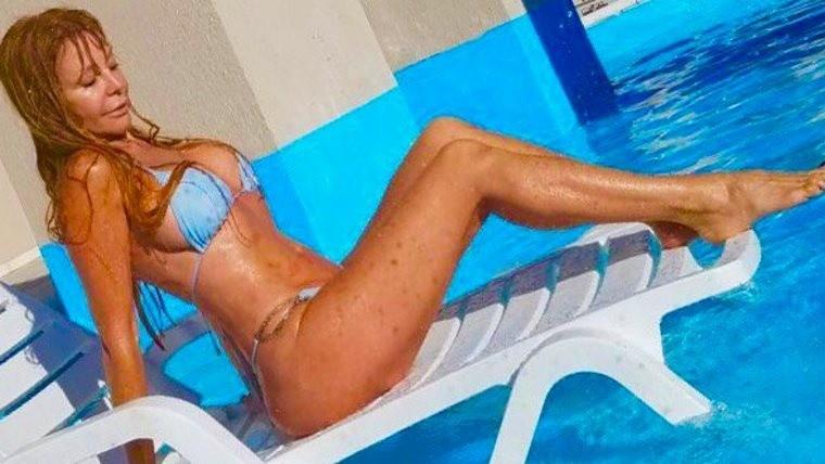 Graciela Alfano se mostró totalmente desnuda en una foto al natural