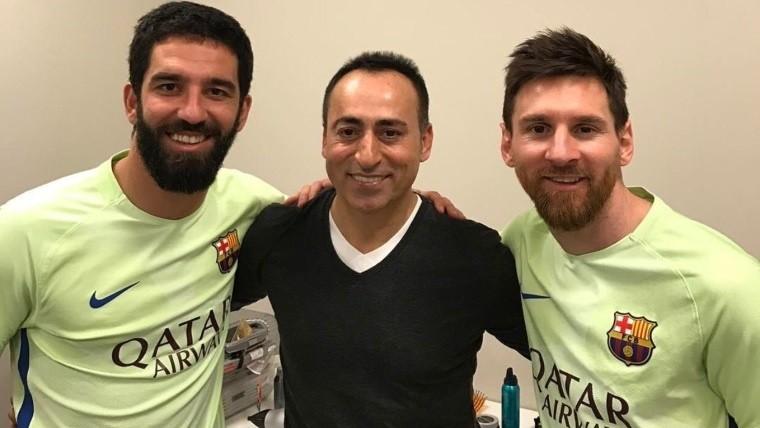 Messi fue de un peluquero turco y tiene nuevo look