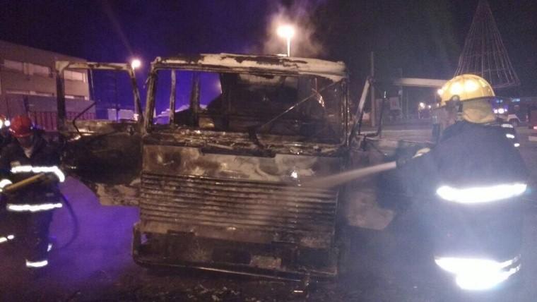 Un camionero arrolló y mató a un manifestante durante una protesta