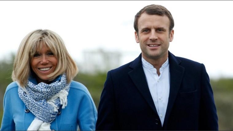 Conoce a la mujer de Macron, su profesora cuando el tenia 15