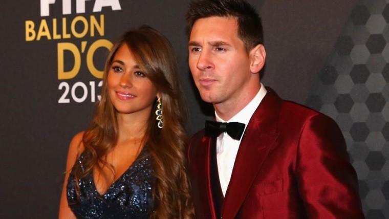 Messi se casará en junio con Antonella Roccuzzo