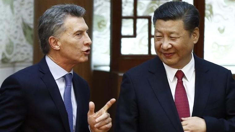 Macri firma con presidente chino acuerdos por U$S 17.000 millones
