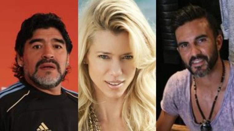 Cubero sufre por Nicole y Maradona le acercó una linda propuesta