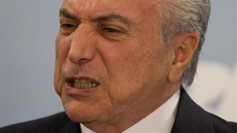 Temer y senador intentaron impedir avance de investigaciones, dice fiscal