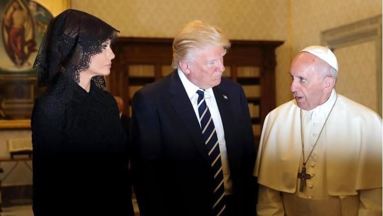 Papa y Trump hablan sobre la paz, diálogo interreligioso y Medio Oriente