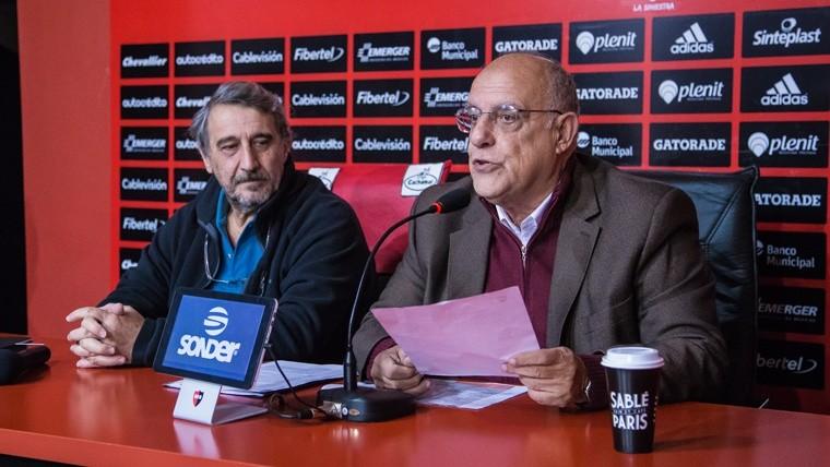 Bermúdez, presidente de Newell's, se alejó del fútbol profesional y se especúla su renuncia