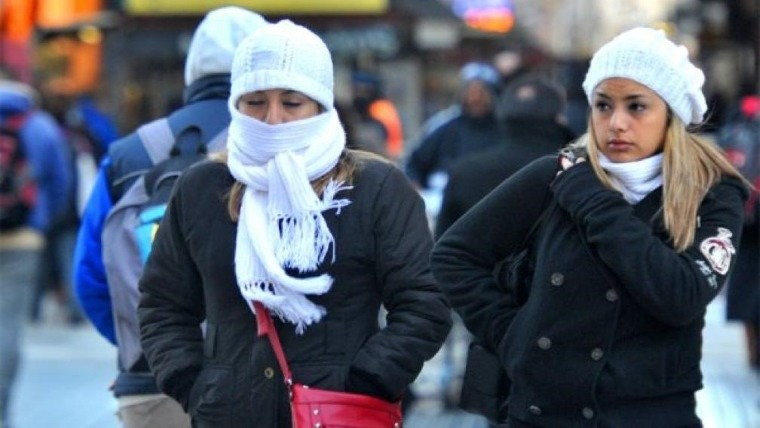 Ola de frío polar afecta gran parte de Argentina