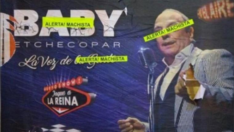 Suspenden el show de Baby Etchecopar en Rosario