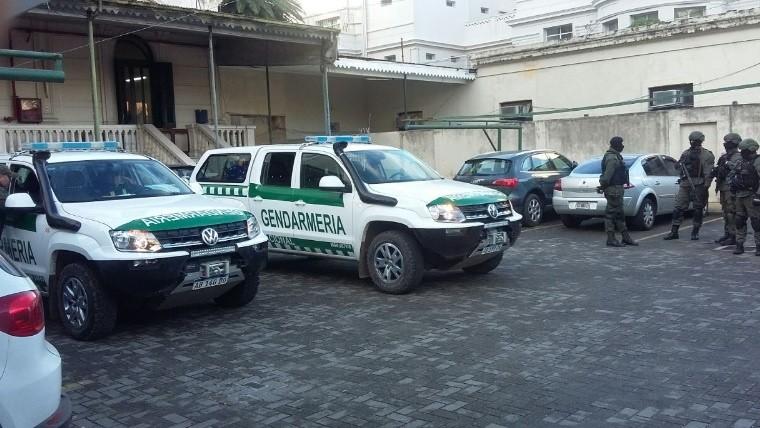 As se quemaron 500 kilos de droga en san lorenzo for Juzgado federal rosario
