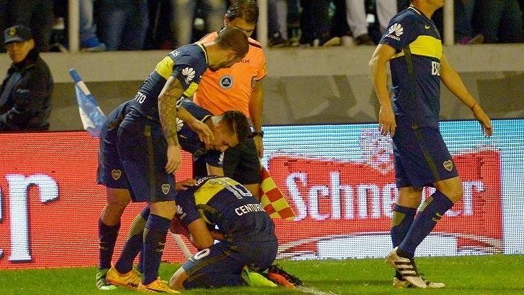 Boca aplastó a Aldosivi y está a un paso del título