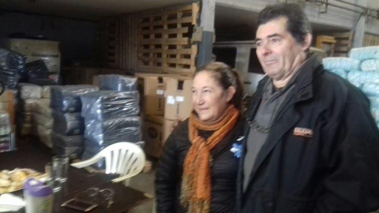 Macri visitó a un matrimonio de emprendedores que le escribió vía Facebook