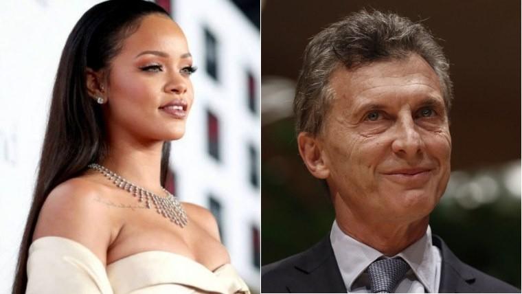 La respuesta de Macri al cuestionamiento de Rihanna sobre la educación