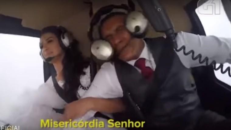 Publican vídeo de novia que se accidentó de camino a su boda