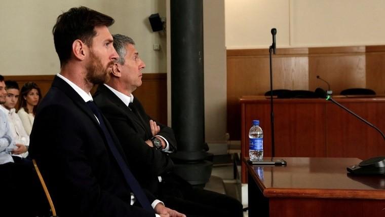 Messi cambió los 21 meses de prisión por 252 mil euros