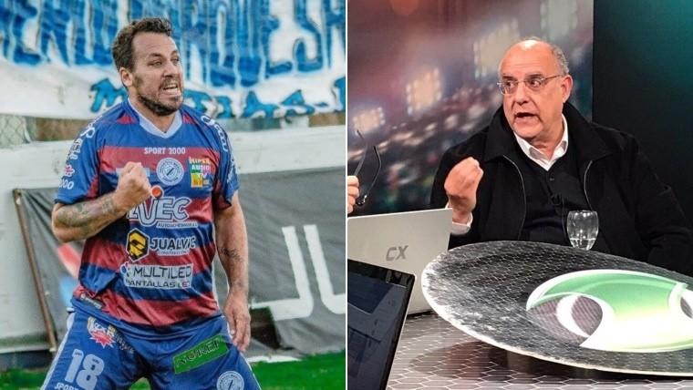 Fabbiani llega a Rosario con la intención de jugar en Newell's