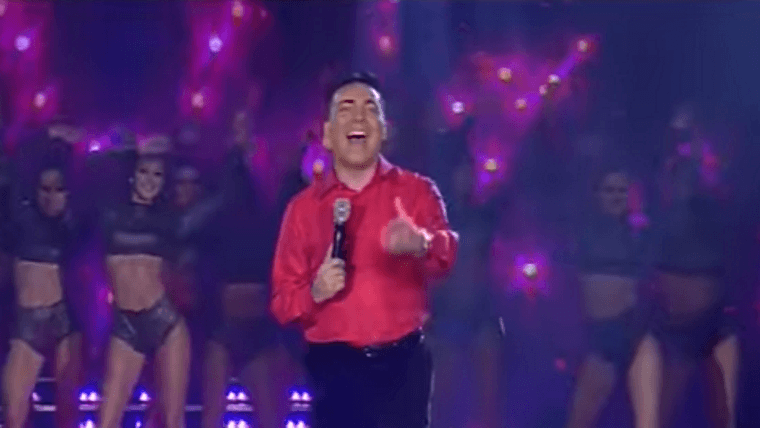 Cristian Castro tuvo un cierre de lujo en Showmatch