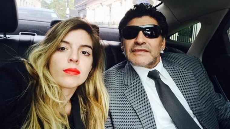 Dalma Maradona explicó por qué su padre tiene problemas para hablar — URUGUAY