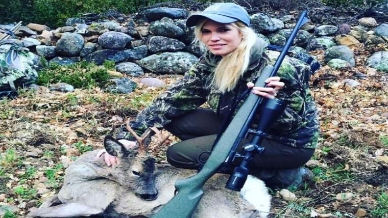 Hallan muerta a famosa bloguera y cazadora española