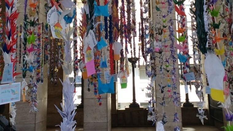 En Hiroshima recordaron a las víctimas con un minuto de silencio