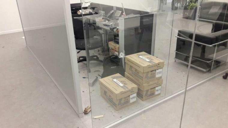 Explotó sobre-bomba en las oficinas de la empresa encargada del escrutinio