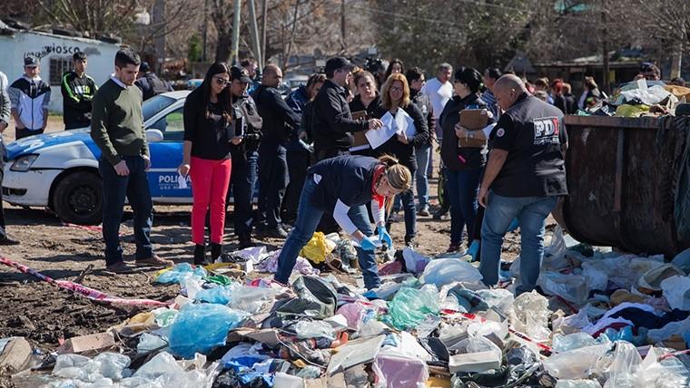 Hallaron un bebé muerto en un contenedor de basura en Rosario