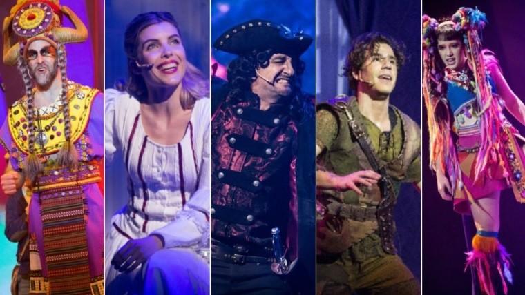"""La puesta en escena de """"Peter Pan"""" conjuga la magia de las fábulas 1dd6ae069df"""