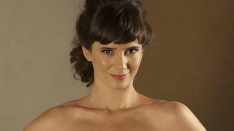 Griselda Siciliani se desnudó toda para recibir al eclipse